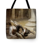 Tired Minstrels Tote Bag