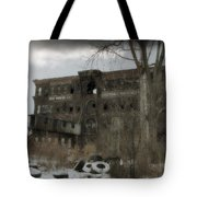 Where All The Tires Go Tote Bag