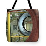 Tires In An Orphanage Tote Bag