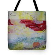 Tissue Paper Abstract 114 Tote Bag