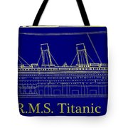 Titanic By Design Tote Bag
