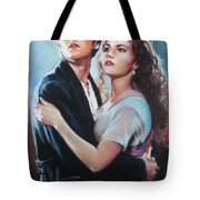 Titanic Jack And Rose Tote Bag