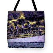 Titanic Screams Tote Bag