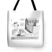 Title: Conspiracy Theories $10 A Boy Is Slumped Tote Bag by Zachary Kanin