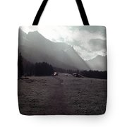Titlis Fields And Farm Tote Bag