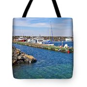 Tiverton On Digby Neck-ns Tote Bag