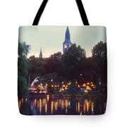 Tivoli Night Lights Tote Bag