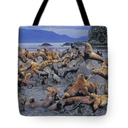 Tk0440, Thomas Kitchin Steller Sea Tote Bag