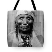 Tlakluit Indian Woman Circa 1910 Tote Bag by Aged Pixel