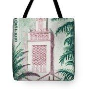 Tlemcen Great Mosque Tote Bag