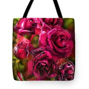 To Be Loved - Red Rose Tote Bag