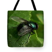 To Be The Fly On The Salad Greens Tote Bag by Barbara St Jean