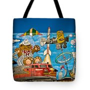 To Be Young Again Tote Bag