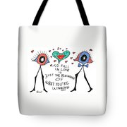 To Fall In Love Tote Bag