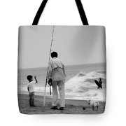 To Fish Or Surf That Is The Question Tote Bag