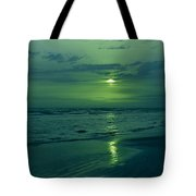 To Green To Be Blue Tote Bag