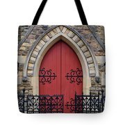 Red Door To Heavens Gates Tote Bag