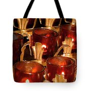To Lite A Candle Tote Bag