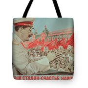 To Our Dear Stalin Tote Bag