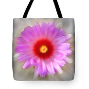 To Return To Innocence. Cactus Flower Tote Bag by Jenny Rainbow