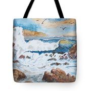 To Rough For Fishing Tote Bag