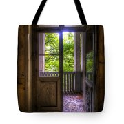 To The Balcony  Tote Bag