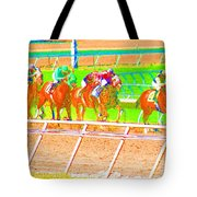 To The Finish Line Tote Bag