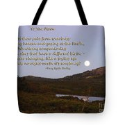 To The Full Moon Tote Bag
