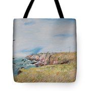 To The Lighthouse  Tribute To Virginia Woolf Tote Bag by Asha Carolyn Young