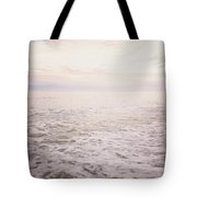 To The Ocean White With Foam Tote Bag