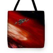 To The Planet's Surface Tote Bag