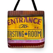 To The Tasting Room Tote Bag