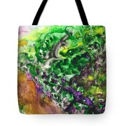 To The Unknown Abstract Path Number Four Tote Bag