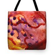 To The Unknown Abstract Path Number One Tote Bag