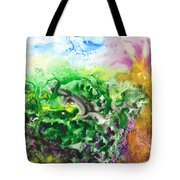 To The Unknown Abstract Path Number Six Tote Bag