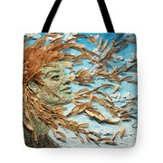To The Wind Tote Bag