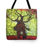 To The World You Go Tote Bag