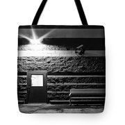 To Wait Or To Enter Tote Bag
