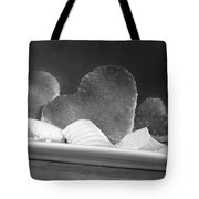Toast Hearts With Butter Black And White Tote Bag