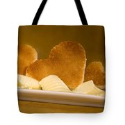 Toast Hearts With Butter Tote Bag