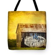 Tobacco Barn In Kentucky Tote Bag