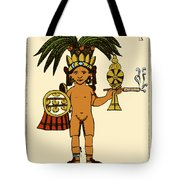 Tobacco In Aztec Ritual, Florentine Tote Bag by Science Source