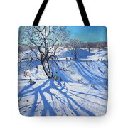 Tobogganers  Chatsworth Tote Bag