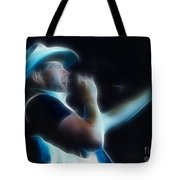 Toby Keith Fractal-1 Tote Bag