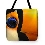 Toco Toucan Face Tote Bag