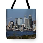 Today In Seattle Tote Bag