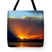 Today Is Forever Lost Tomorrow Tote Bag by Karen Wiles