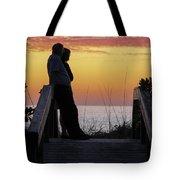Together At Sunset  Tote Bag