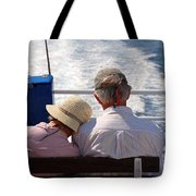 Together In Greece Tote Bag