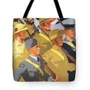 Together Propaganda Poster Tote Bag by Anonymous
